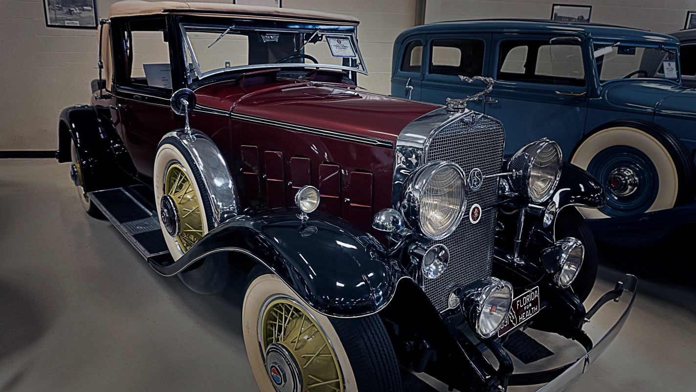 1931 LaSalle Convertible Rumble Seat Coup - Swope Vintage Cars